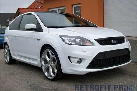 Ford Focus (2008-2011) - Покраска фар